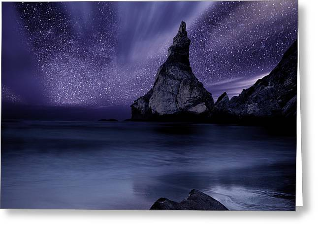 Ocean Moods Greeting Cards - Prelude to Divinity Greeting Card by Jorge Maia