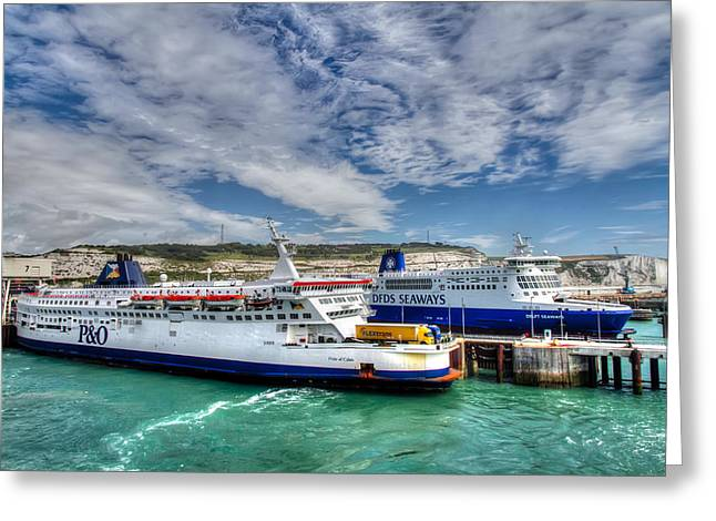 England Photographs Greeting Cards - Preparing to Cross the Channel Greeting Card by Tim Stanley
