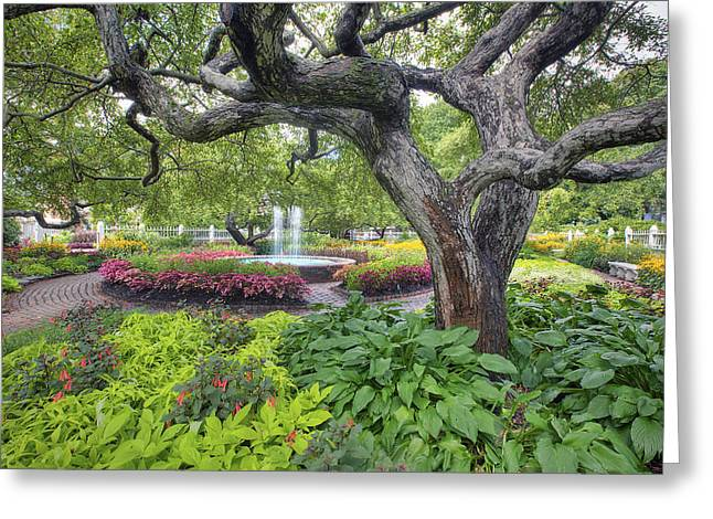 Prescott Greeting Cards - Prescott Garden Greeting Card by Eric Gendron