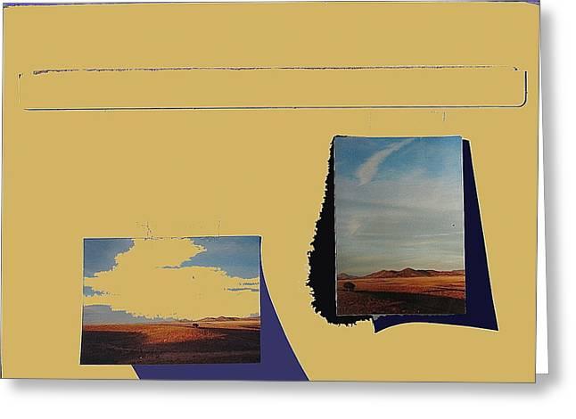 Prescott Greeting Cards - Prescott Valley collage Prescott Valley Arizona 2001-2012 Greeting Card by David Lee Guss