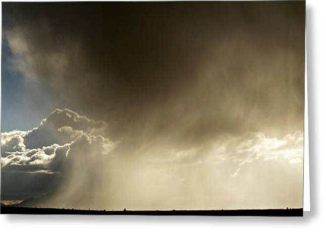 Prescott Greeting Cards - Prescott Wet Microburst Greeting Card by Aaron Burrows