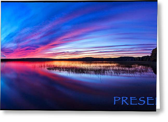 Photos With Red Photographs Greeting Cards - Presence 1 Greeting Card by Bill Caldwell -        ABeautifulSky Photography
