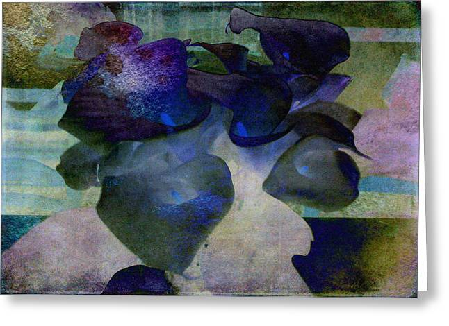 Sarah Vernon Greeting Cards - Present Abstract Greeting Card by Sarah Vernon