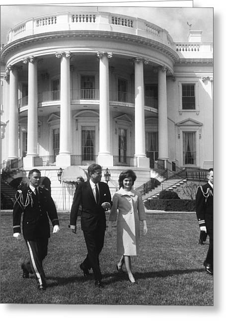 President John F. Kennedy And The First Greeting Card by National Archives