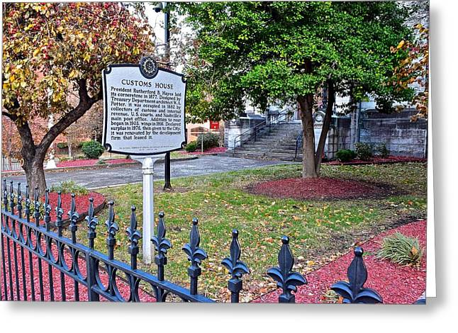 Nashville Greeting Cards - President Rutherford B Hayes Greeting Card by Frozen in Time Fine Art Photography