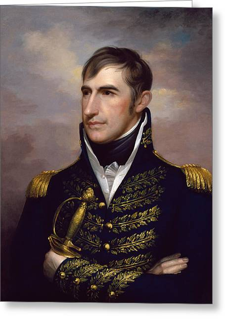 William Henry Harrison Greeting Cards - President William Henry Harrison Greeting Card by War Is Hell Store