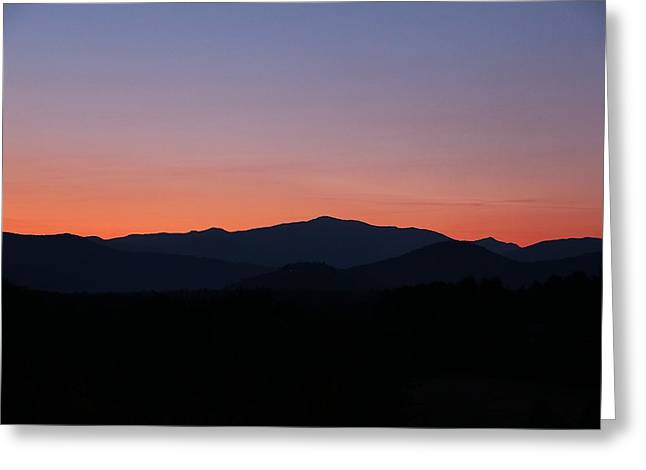 North Conway Greeting Cards - Presidential Range Greeting Card by Andrea Galiffi