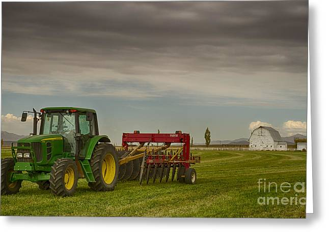Preston Farm Greeting Cards - Preston Farm Greeting Card by Idaho Scenic Images Linda Lantzy