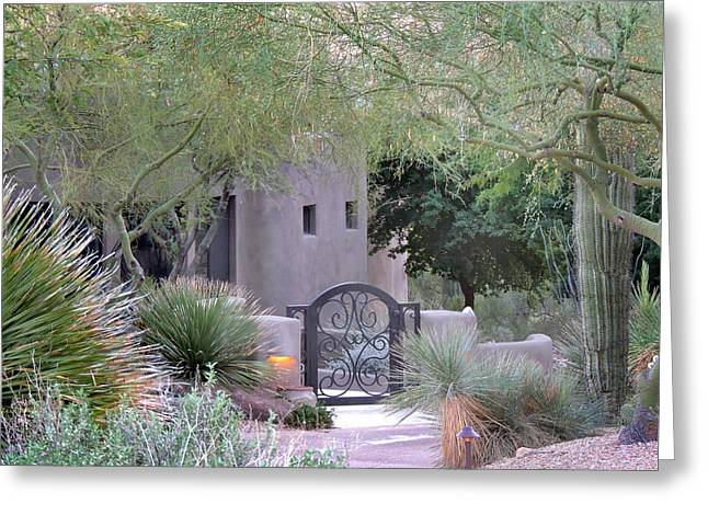 Entryway Greeting Cards - Peaceful Entry Greeting Card by Gordon Beck