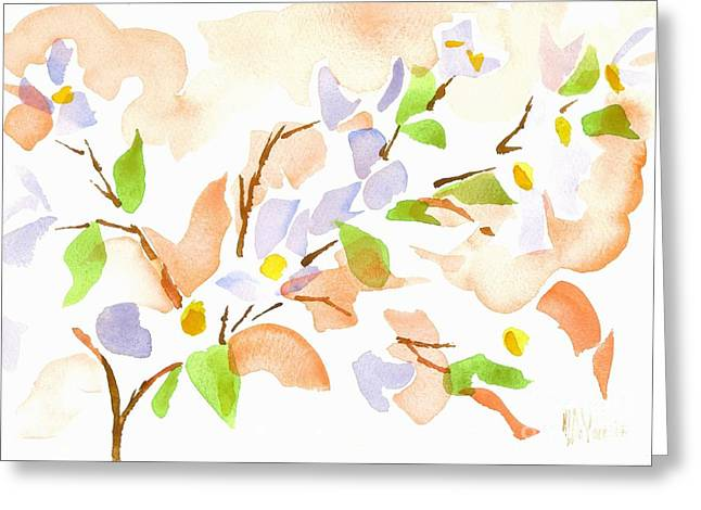 Loose Greeting Cards - Pretty in Pink Missouri Dogwood Greeting Card by Kip DeVore