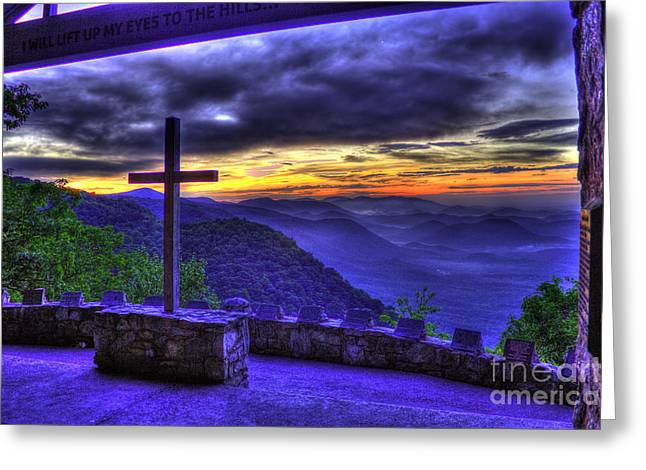 Summer Camps Greeting Cards - Before Sunrise at Pretty Place Chapel 2 Greeting Card by Reid Callaway