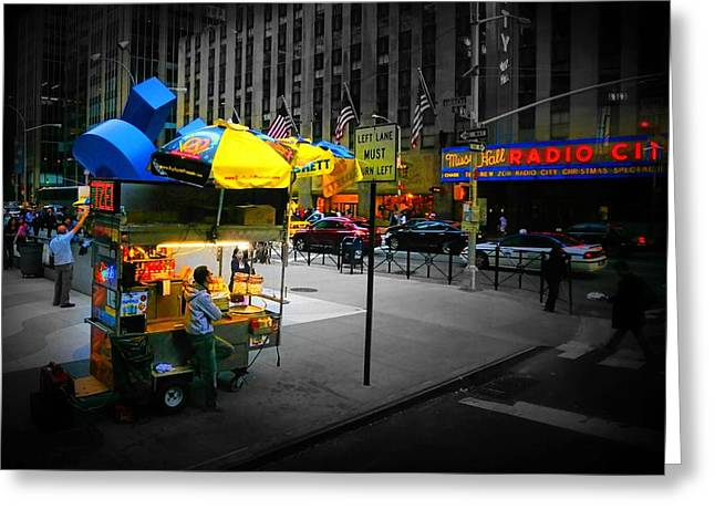 Food Vendors Greeting Cards - Pretzels Greeting Card by Diana Angstadt