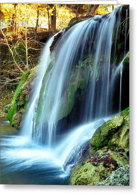 Price Falls 4 Of 5 Greeting Card by Jason Politte