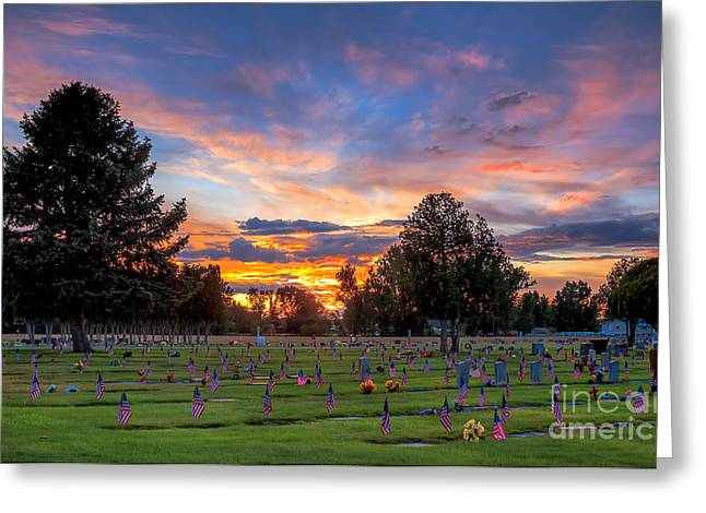 Martinville Greeting Cards - Price Of Freedom Greeting Card by Robert Bales