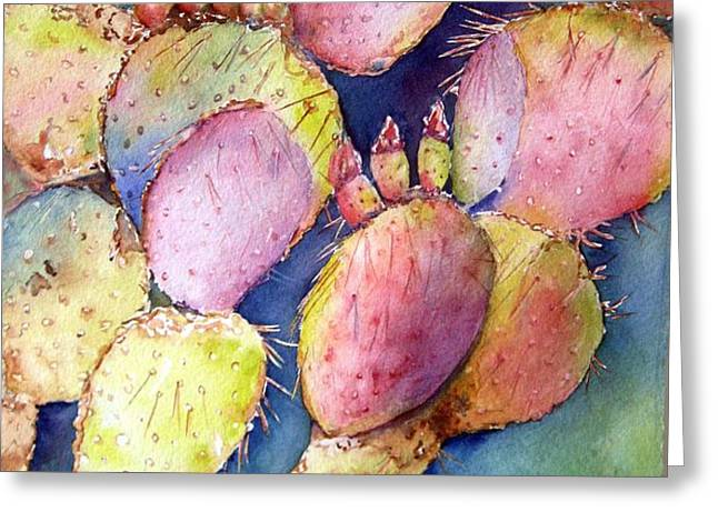prickly perch Greeting Card by Patricia Pushaw