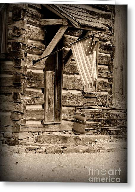 Old Country Roads Greeting Cards - Pride Honor and Glory Greeting Card by Paul Ward
