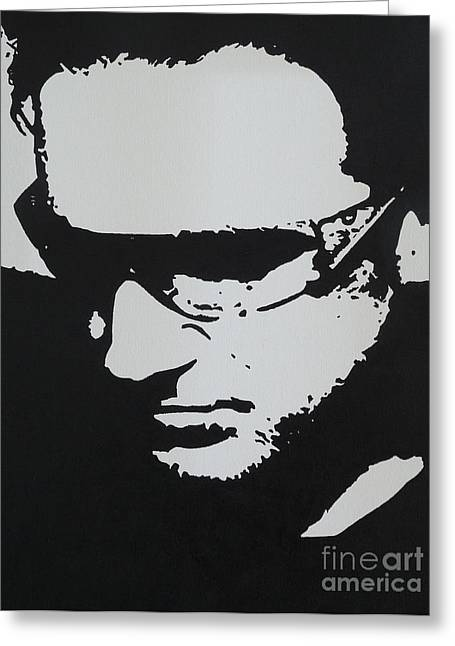 U2 Paintings Greeting Cards - Pride Greeting Card by ID Goodall