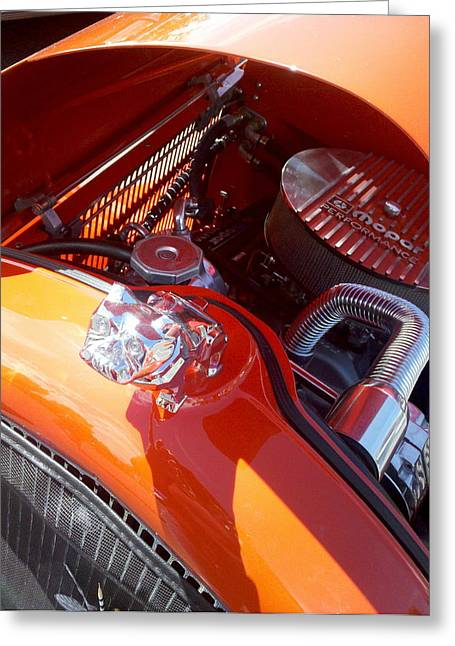 Rally Greeting Cards - Pride in the Hood Greeting Card by FlyingFish Foto