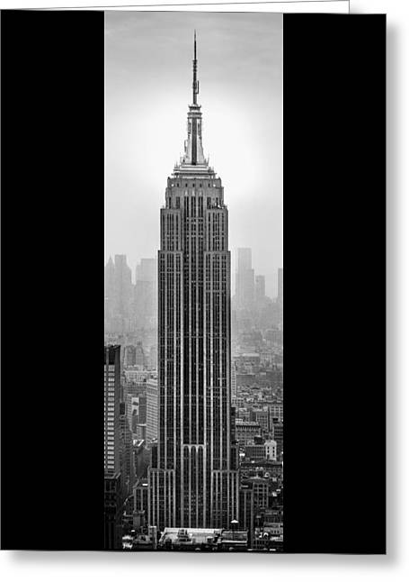 Empire State Building Greeting Cards - Pride Of An Empire Greeting Card by Az Jackson