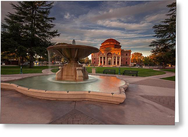 Atascadero Greeting Cards - Pride of the City Greeting Card by Tim Bryan