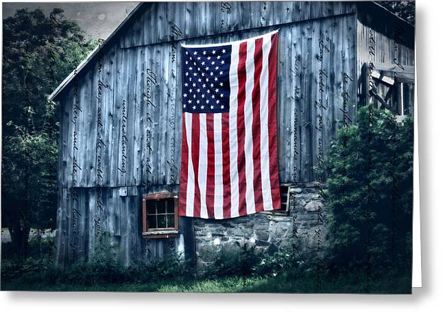 New England Greeting Cards - Pride Greeting Card by Thomas Schoeller
