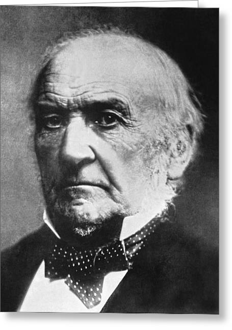 Prime Minister Gladstone Greeting Card by Underwood Archives