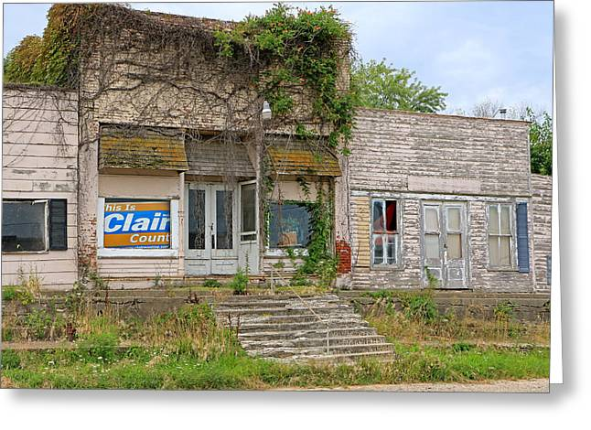 Store Fronts Greeting Cards - Prime Real Estate Greeting Card by Christopher McKenzie
