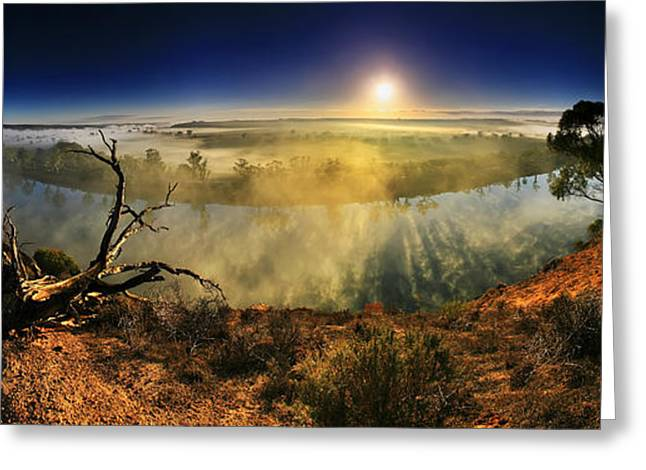 Primeval Greeting Cards - Primeval Dawn Greeting Card by Bill  Robinson