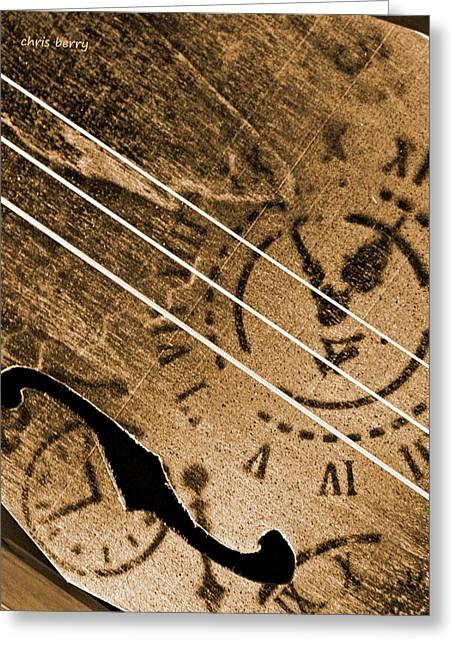 Resonator Greeting Cards - Primitive  Greeting Card by Chris Berry