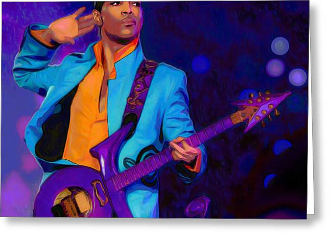 Prince 3 Greeting Card by  Fli Art