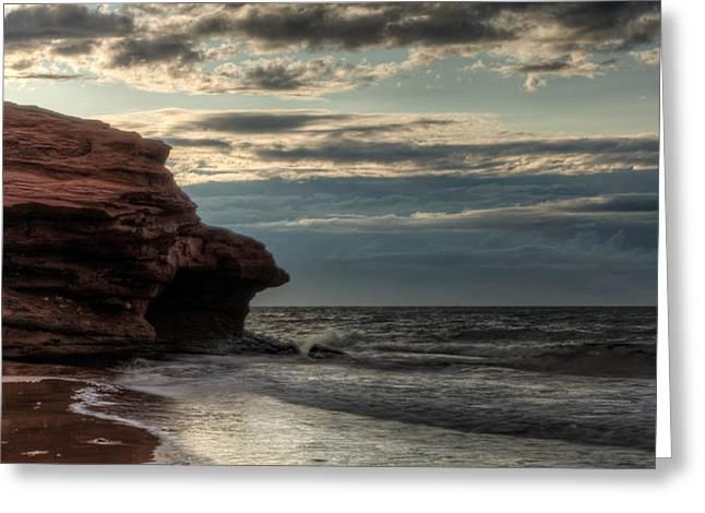 Atlantic Beaches Greeting Cards - Prince Edward Island Coastline Greeting Card by Matt Dobson