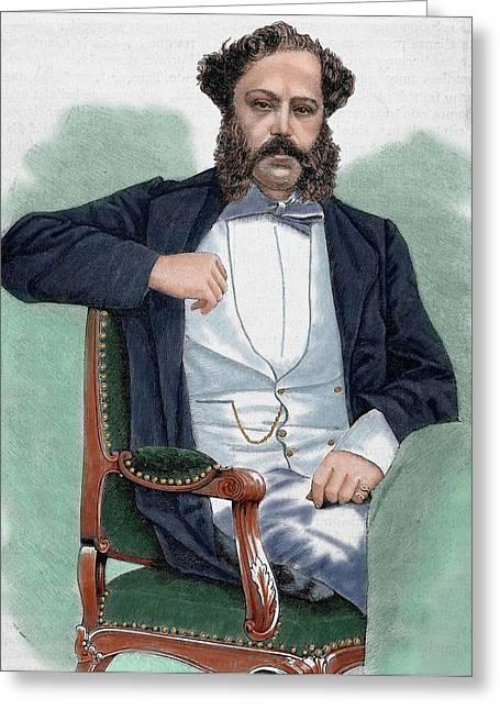 Prince Klemens Metternich-winneburg Greeting Card by Prisma Archivo