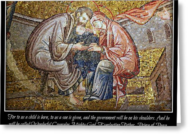 Christ Child Greeting Cards - Prince of Peace Greeting Card by Stephen Stookey