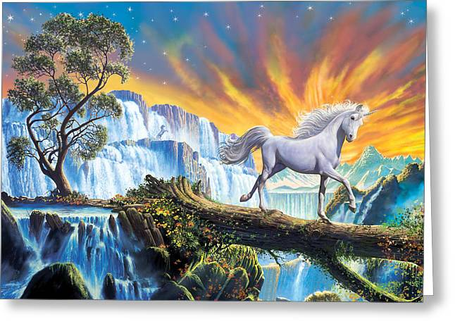 Crisp Greeting Cards - Prince of the mountains Greeting Card by Steve Crisp