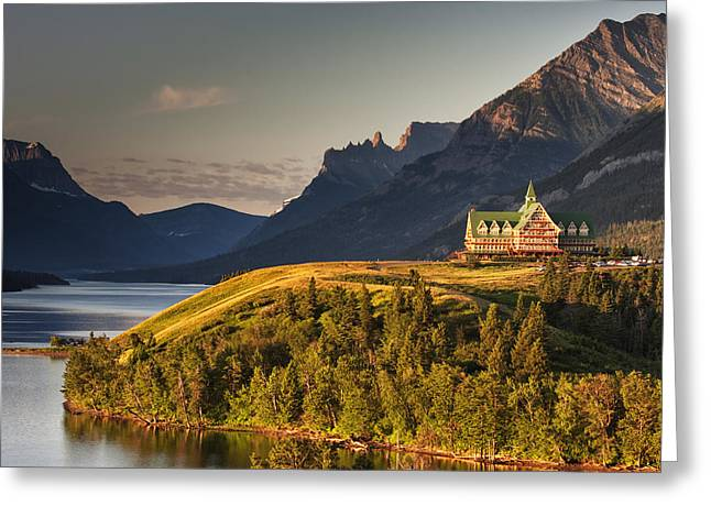 Alberta Greeting Cards - Prince of Wales Sunrise Greeting Card by Mark Kiver