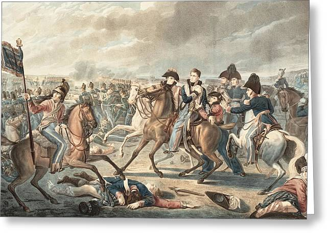 Prince William Greeting Cards - Prince William of Orange gets wounded at the shoulder Greeting Card by Celestial Images