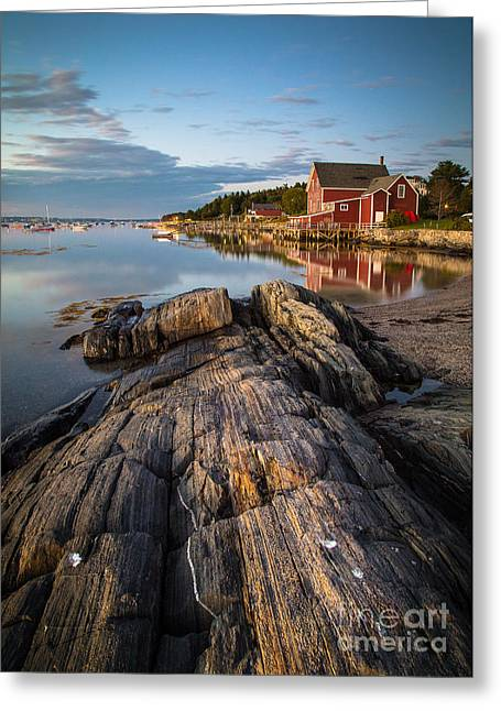 Harpswell Greeting Cards - Princes Point Greeting Card by Benjamin Williamson