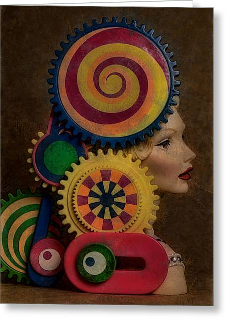 Princess And Contraption 1 Greeting Card by Jeff  Gettis