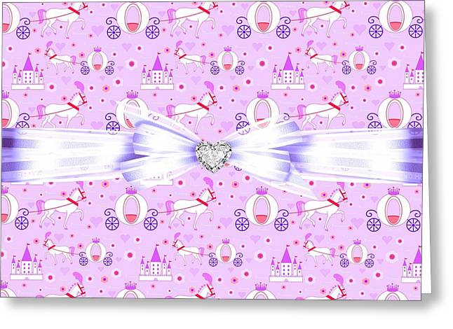 Daughter Gift Greeting Cards - Princess Celebration Greeting Card by Debra  Miller