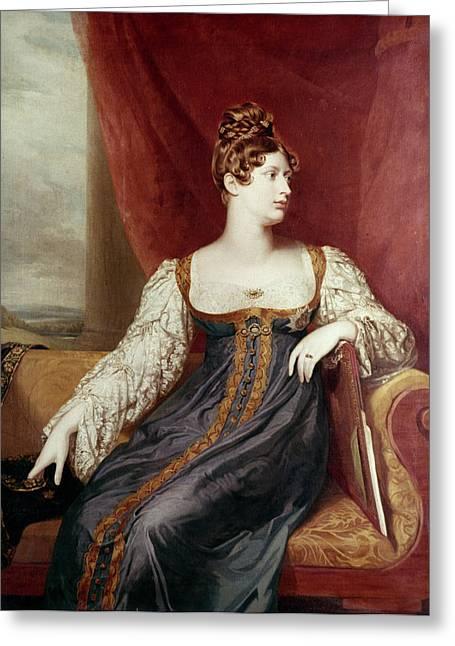 Princess Charlotte Greeting Card by Granger
