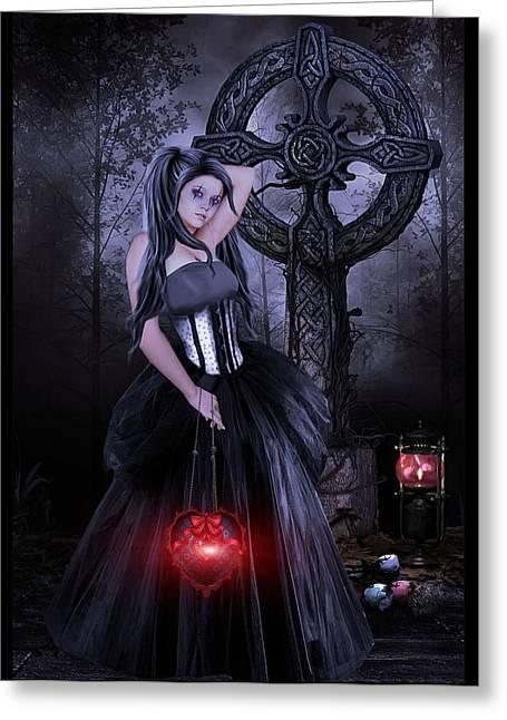 Lost Princess Greeting Cards - Princess of Lost Souls Greeting Card by Brian Graybill