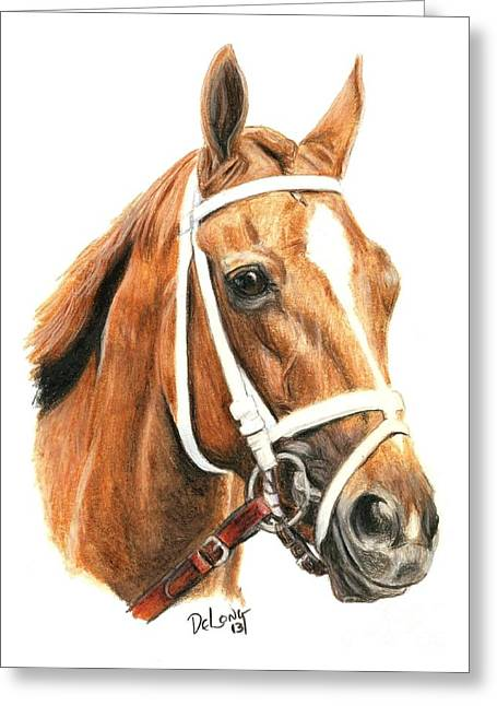 Princess Of Sylmar Greeting Card by Pat DeLong