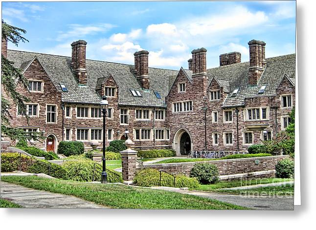 Princeton Greeting Cards - Princeton University Dormitory  Greeting Card by Olivier Le Queinec