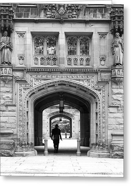 Recently Sold -  - Special Occasion Greeting Cards - Princeton University East Pyne Arch Greeting Card by University Icons