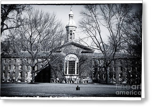 Old School Galleries Greeting Cards - Princeton University Greeting Card by John Rizzuto