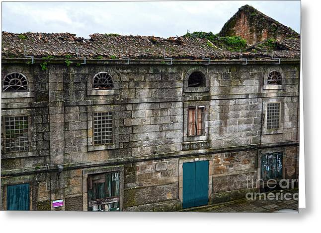 Old House Photographs Greeting Cards - Principal Theatre in ruins Greeting Card by RicardMN Photography