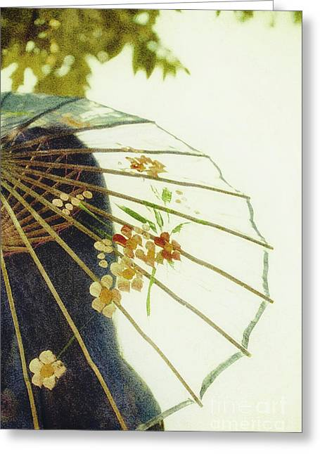 Chinese Woman Greeting Cards - Pristine Greeting Card by Margie Hurwich