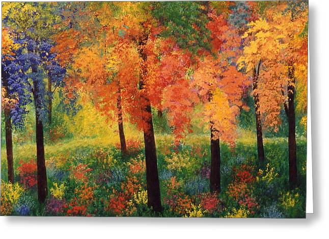 Forest Ceramics Greeting Cards - Private Club Greeting Card by Jacqueline De Maillard