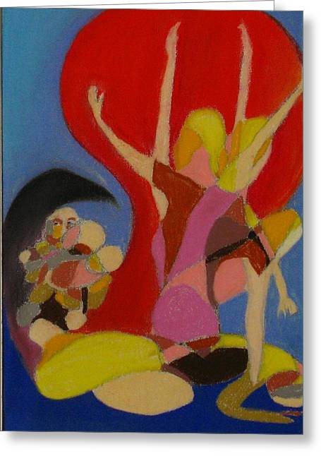 Michael Pastels Greeting Cards - Pro Life Number 1 Greeting Card by Michael Anthony Edwards