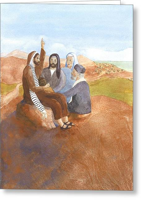 Proclamation Greeting Cards - Proclamation of the Gospel Greeting Card by John Meng-Frecker